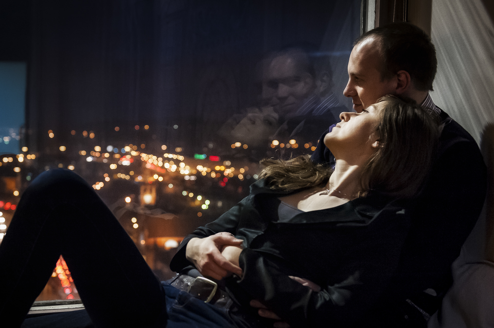 Gdańsk z wysoka - Sesja narzeczeńska Ani i Michała fot-R-Kowalski
