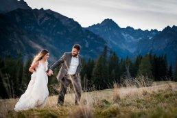 Fotograf Weselny romantyczne zdjęcia ślubne w całym kraju