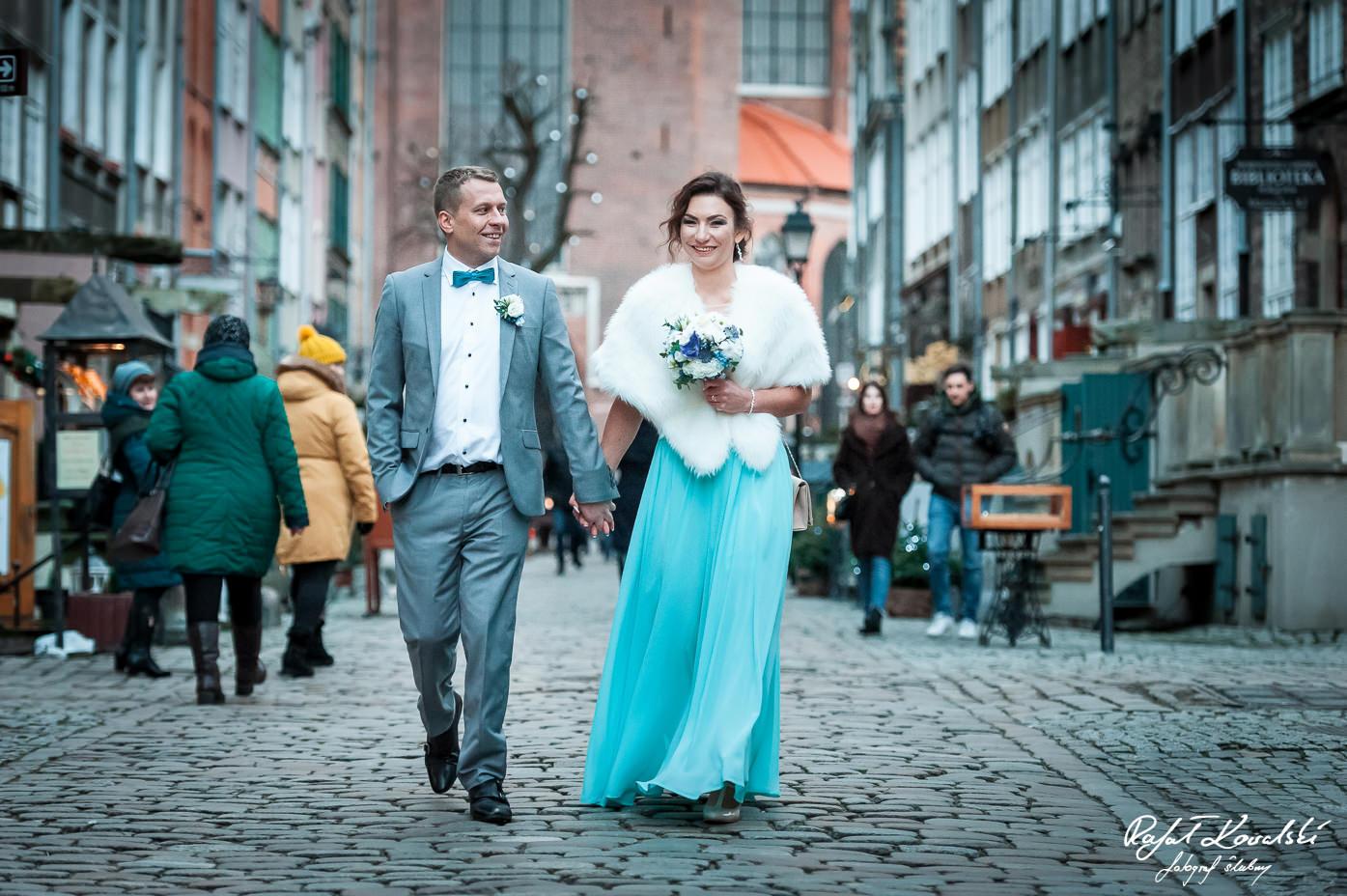 Sesja ślubna Gdańsk Stare Miasto - Fotograf Ślubny Rafał Kowalski