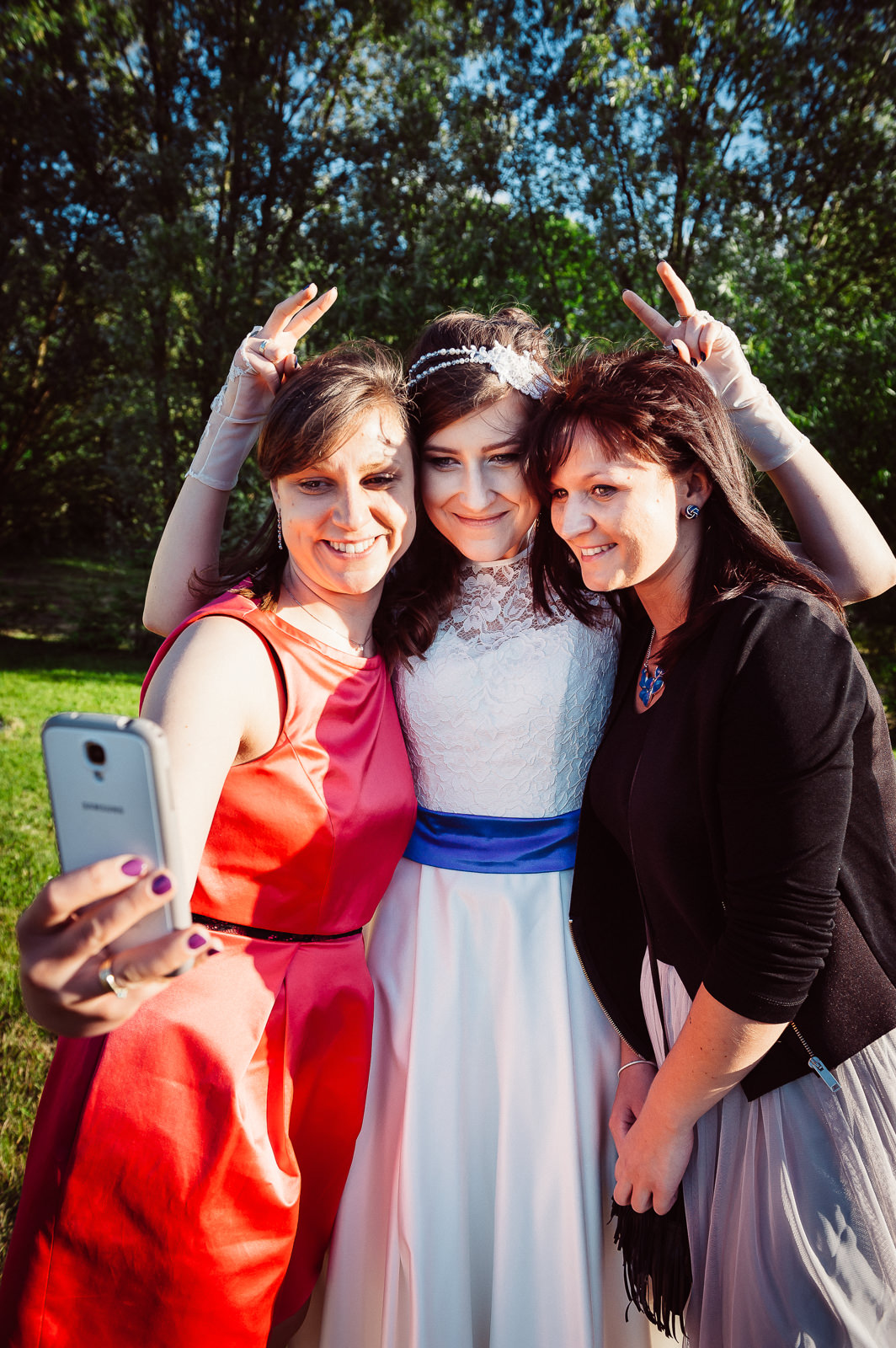 Selfie z gośćmi na weselu Sala Bankietowa Aura