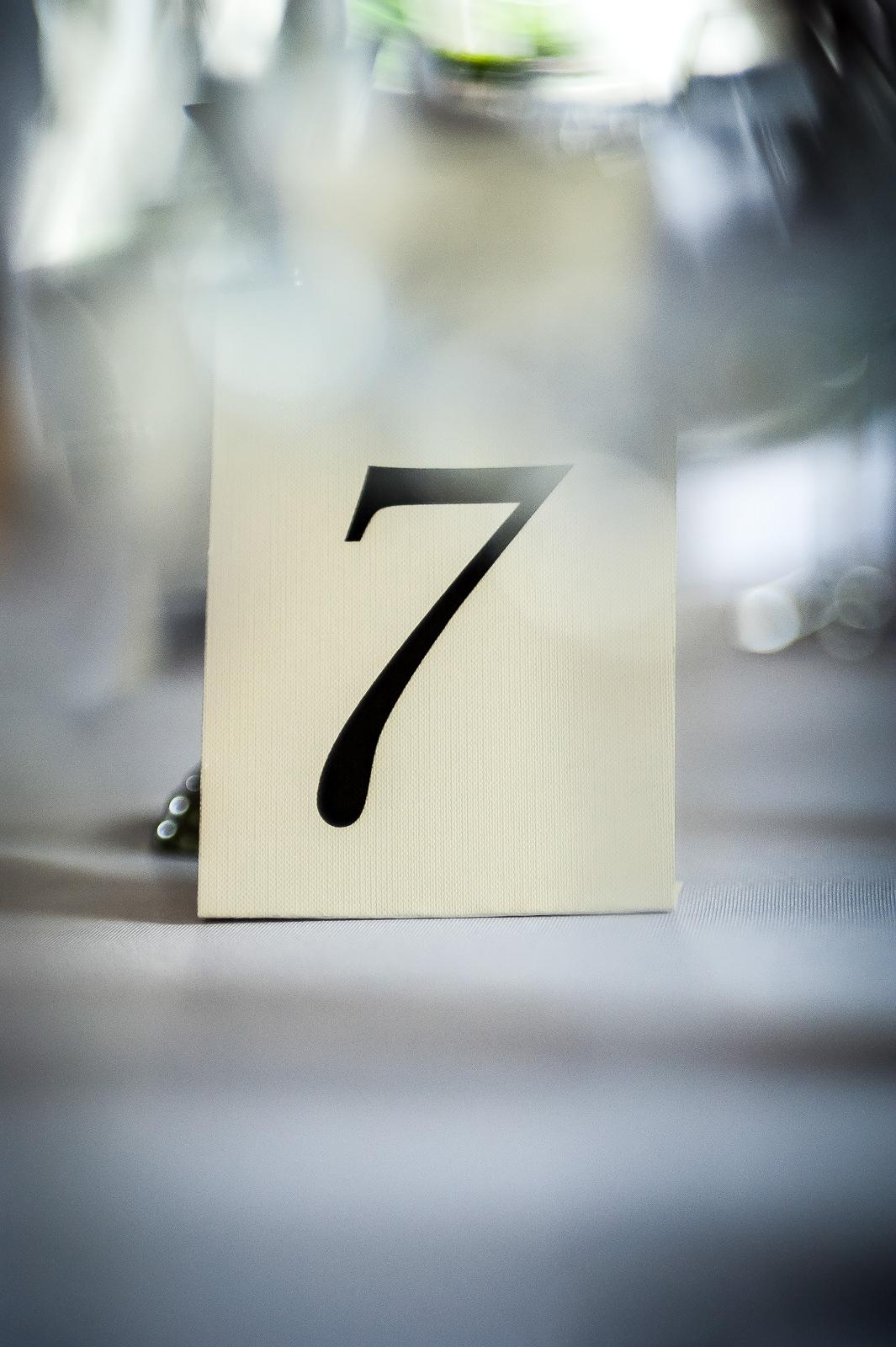 Numeracja stołów Dwór Fijewo