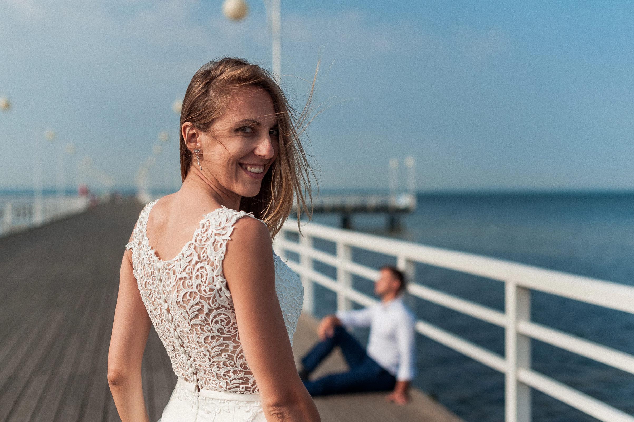 Sesja ślubna - z gór nad morze