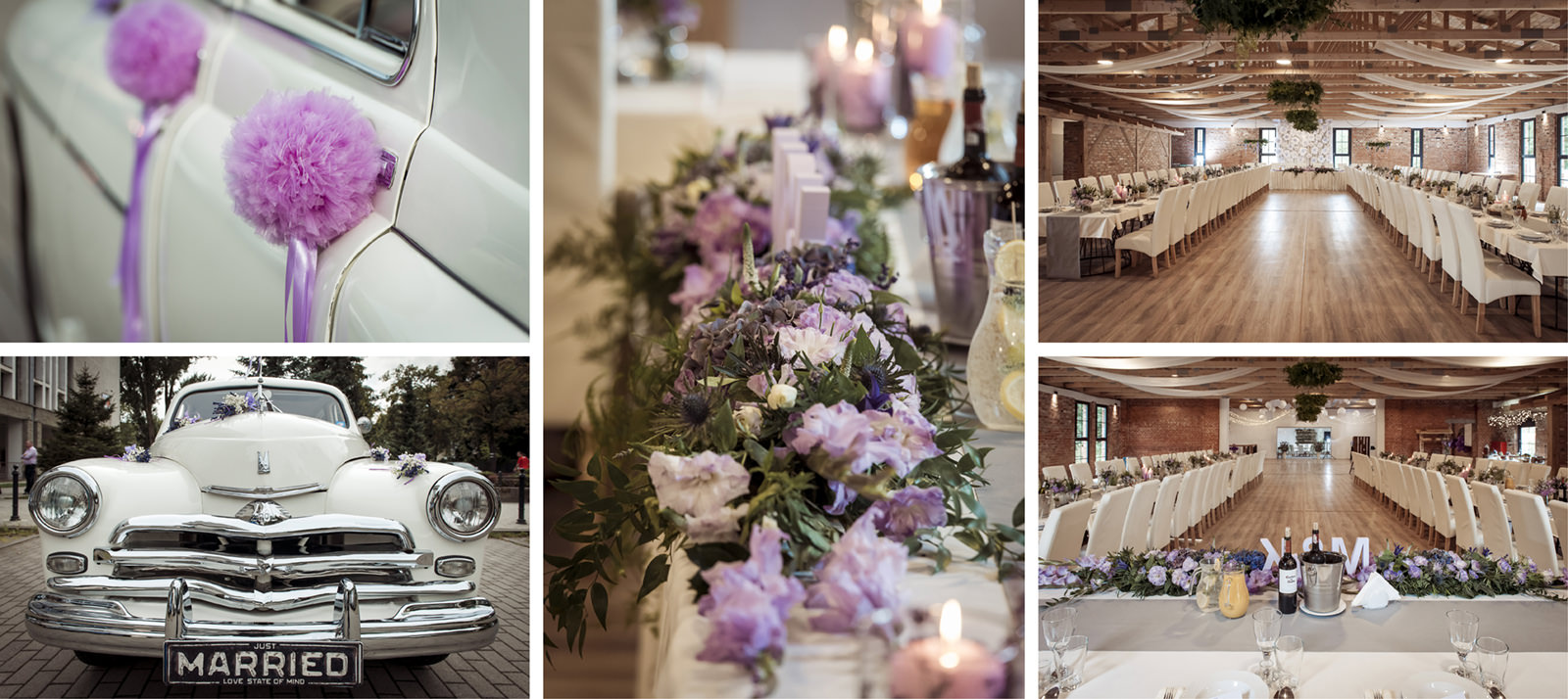 Spójna i przemyślana oprawa ślubu oraz wesela - kwiaty, samochód, kolorystyka i wybór sali - sprawiają, że fotografie z waszego ślubu zyskują zupełnie inny, głębszy wymiar