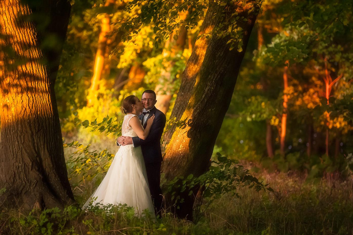 romantyczna sesja ślubna w lesie fotograf-weselny-Elbląg-fotografia-ślubna-Elbląg-sesja-ślubna-Elbląg
