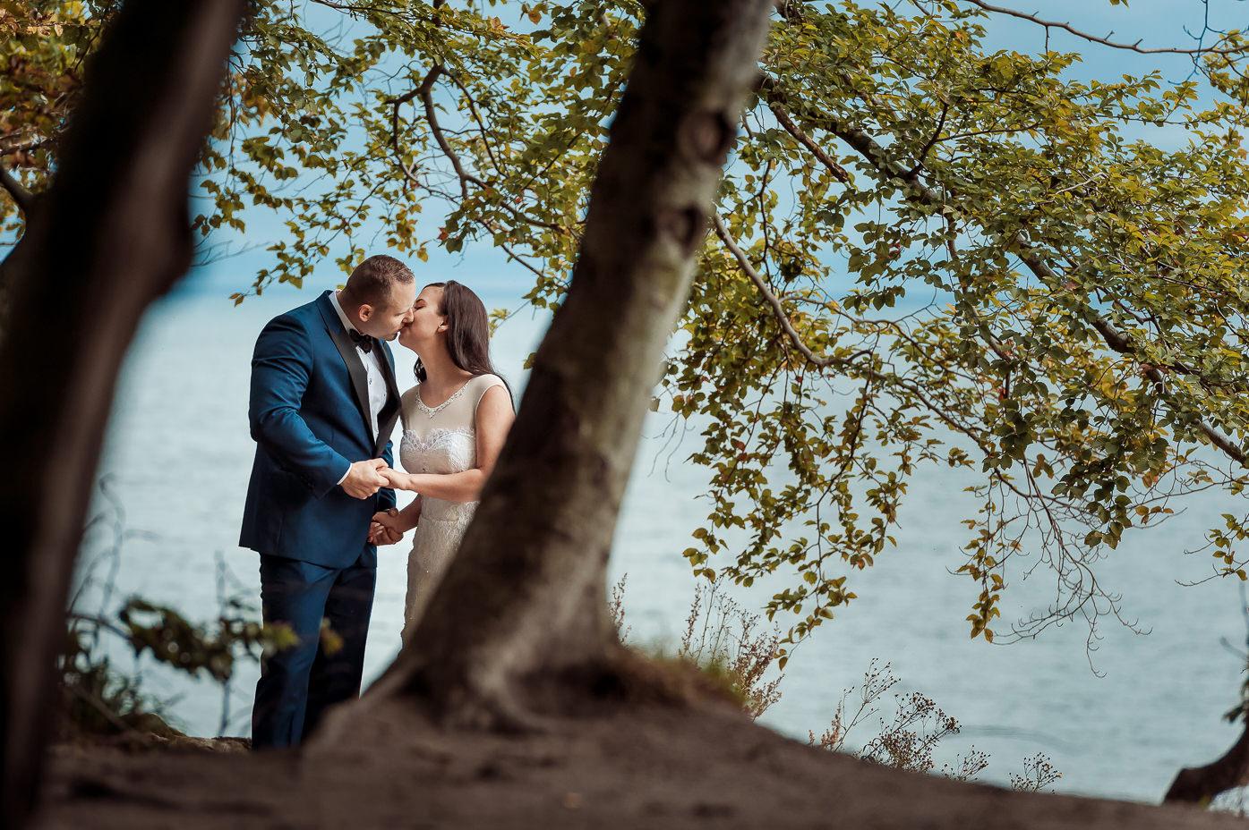 sesja ślubna nad morzem fotograf-weselny-Elbląg-fotografia-ślubna-Elbląg-sesja-ślubna-Elbląg