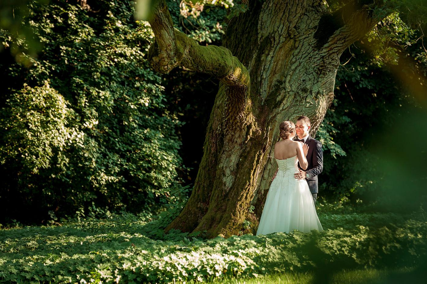 romantyczna sesja ślubna w parku fotograf-weselny-Malbork-fotografia-ślubna-Malbork-sesja-ślubna-Malbork