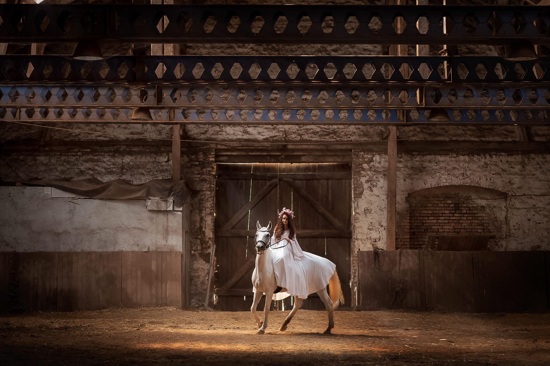 047-Sesja Ślubna na koniach Plener Ślubny na koniach