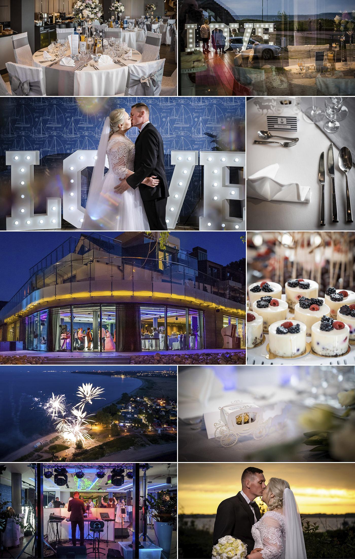 Sala na wesele pomorskie dom weselny Hotel Skipper Rewa wesele nad morzem