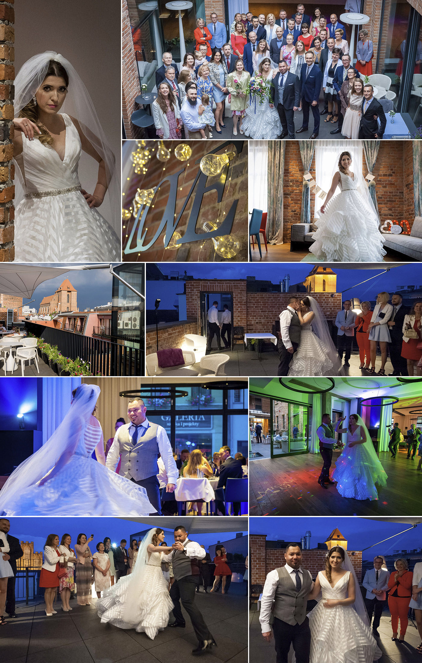 Sale weselne kujawsko-pomorskie Hotel Nicolaus Toruń Fotograf Ślubny Toruń