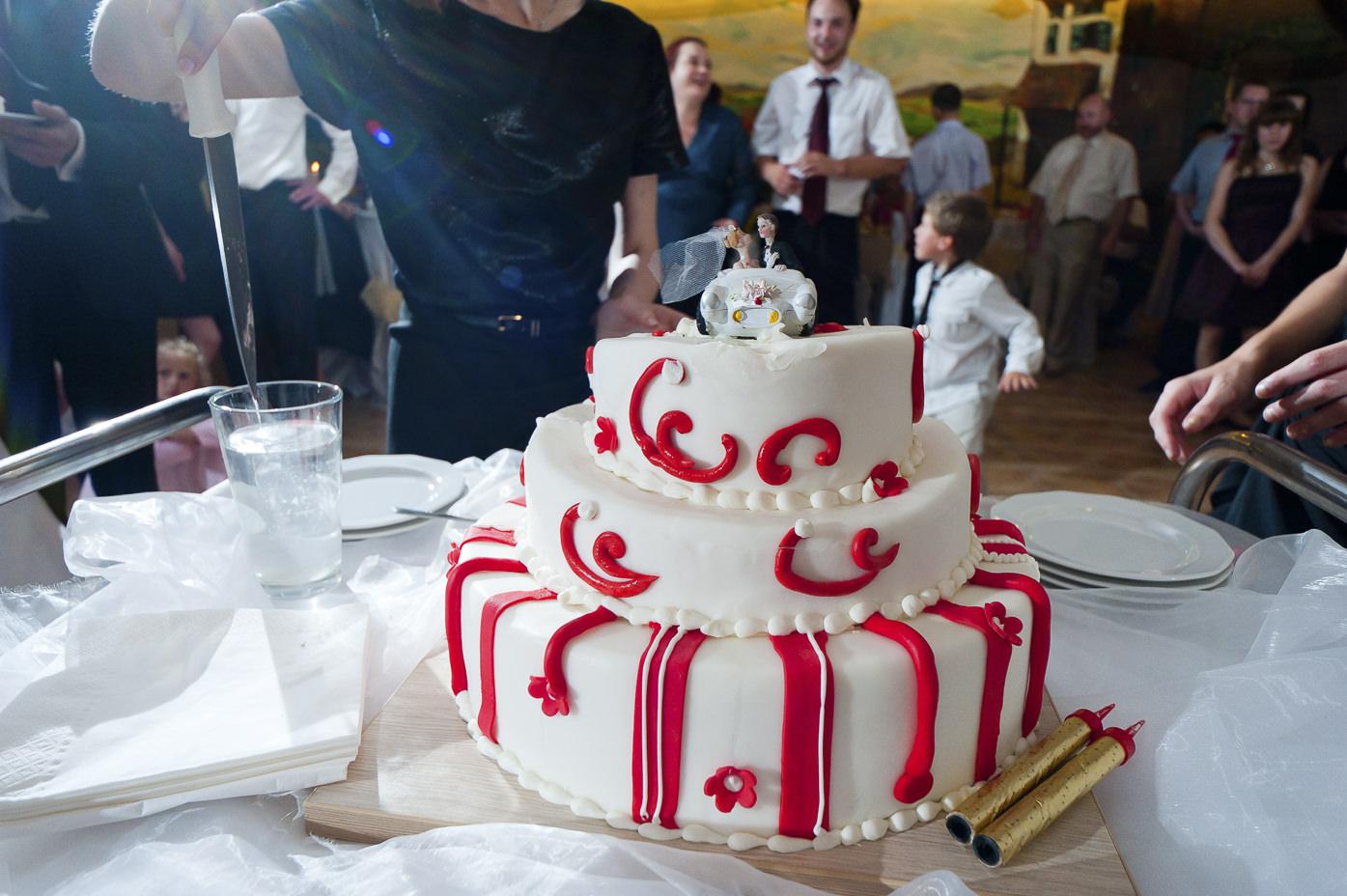 Ślubne inspiracje - tort weselny
